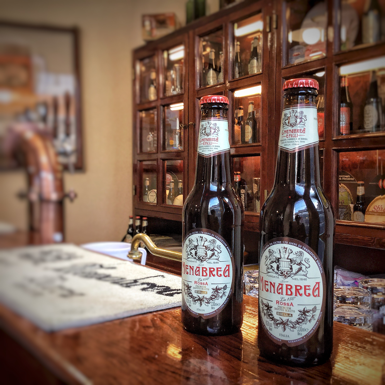 Filetto di agnello con rabarbaro alla birra rossa