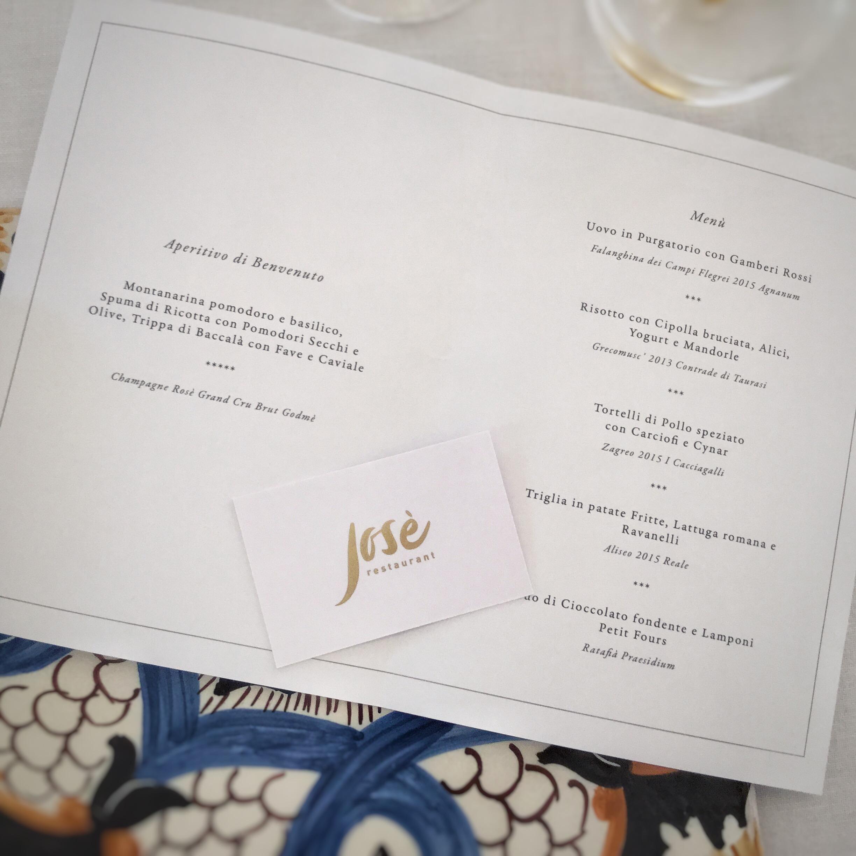 Josè Restaurant - Tenuta Villa Guerra