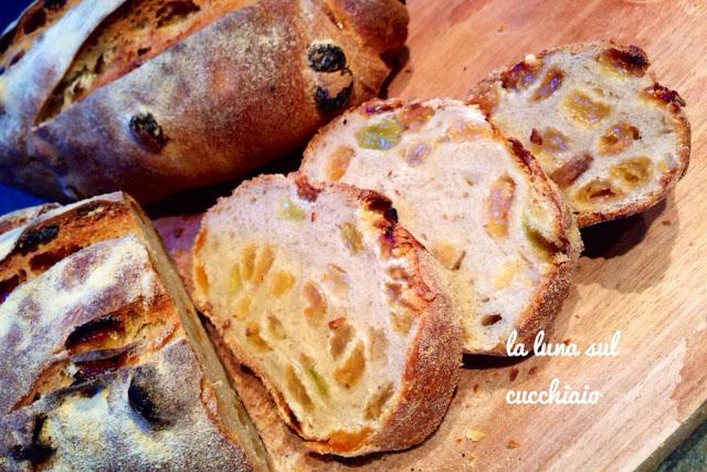 Pan tranvai con lievito madre