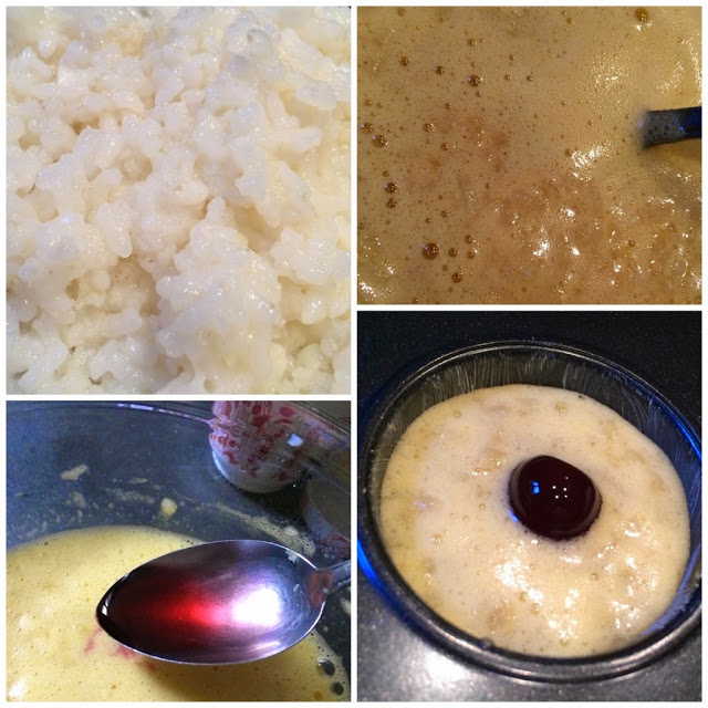 Tortine di riso alle amarene