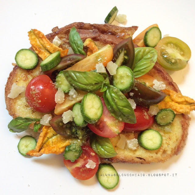 Pain perdu salato: una ricetta con il pane raffermo