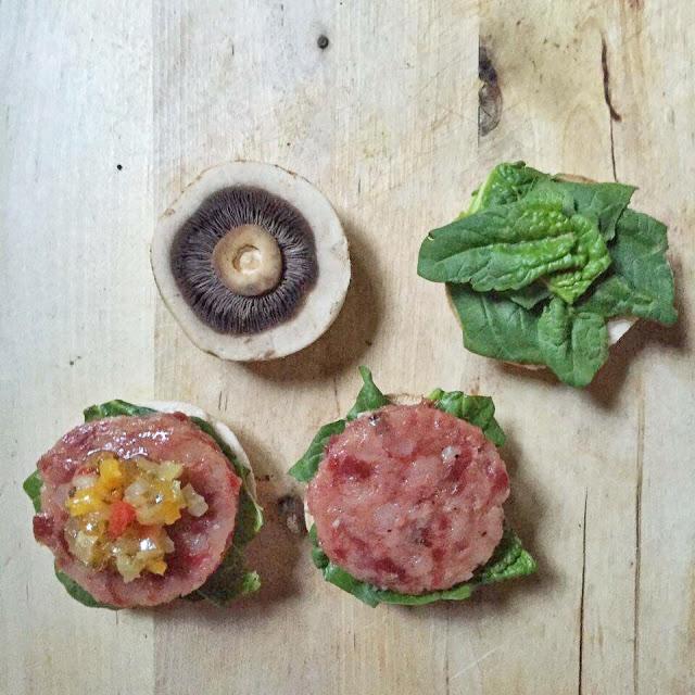 Hamburger di champignon e cotechino