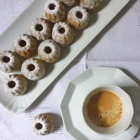 Muffin di farro al caffè