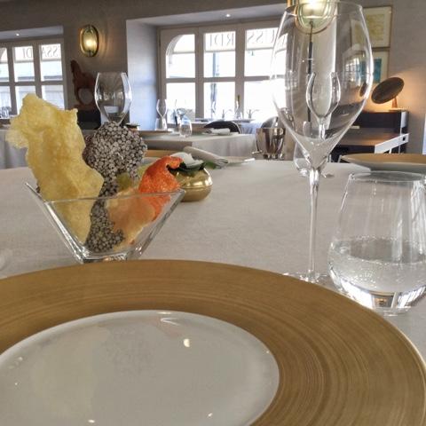 Autunno in tavola al Ristorante Trussardi alla Scala Chef Roberto Conti