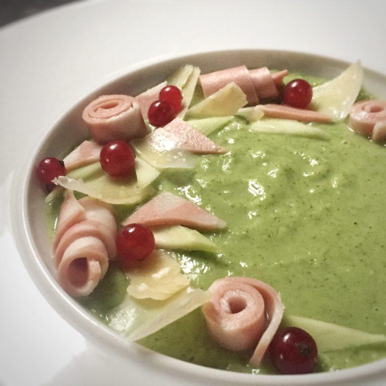 Crema di broccoli con Mortadella di Bologna IGP