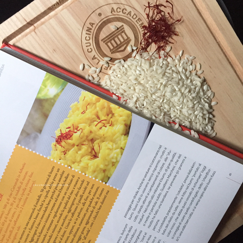 Risotto alla milanese dell'Accademia Italiana della Cucina