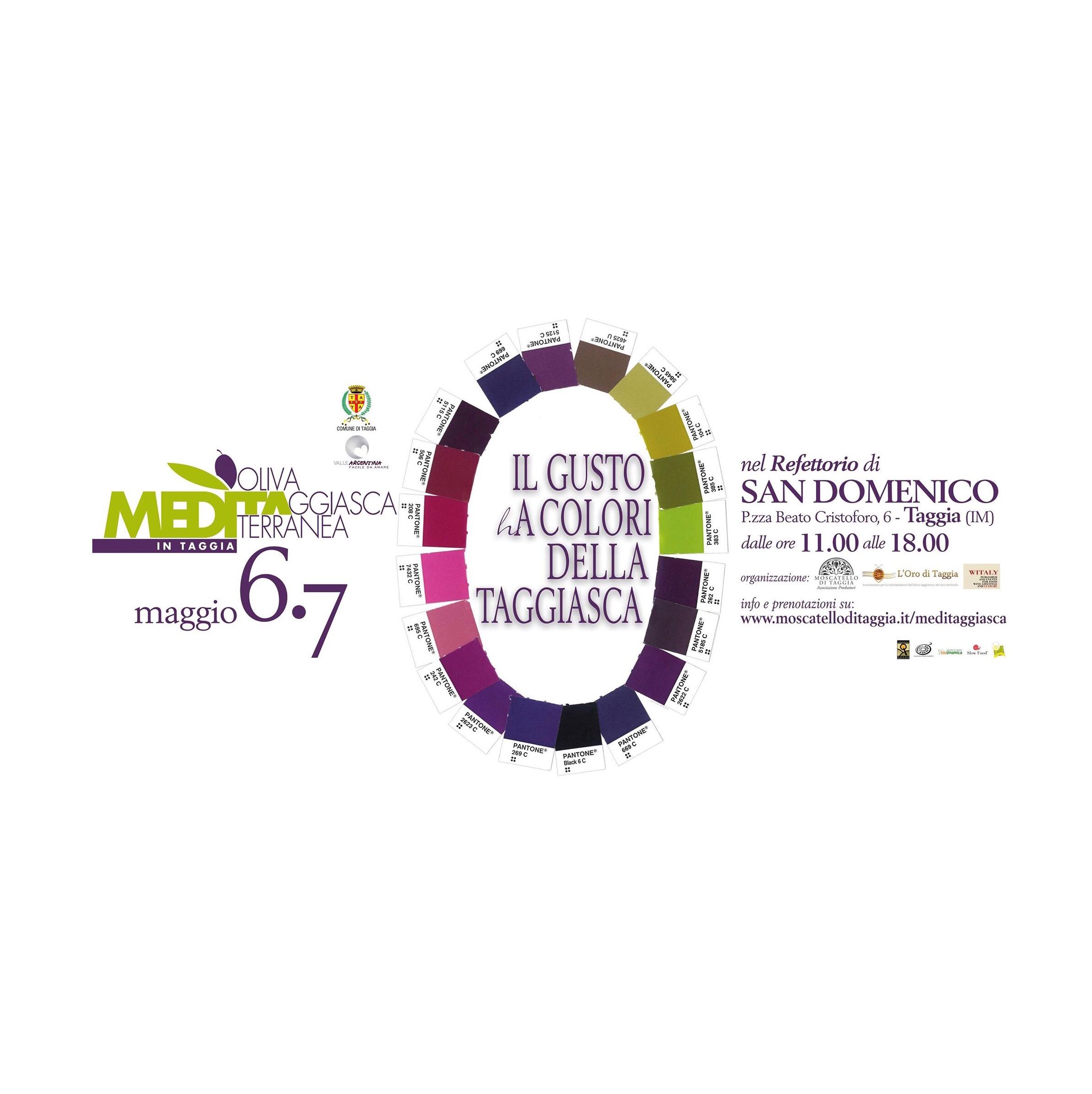 Meditaggiasca 2017 oliva Taggiasca non solo olio