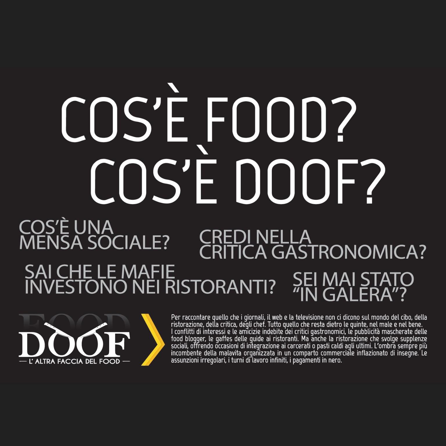 DOOF una giornata a Milano per conoscere l'altra faccia del food
