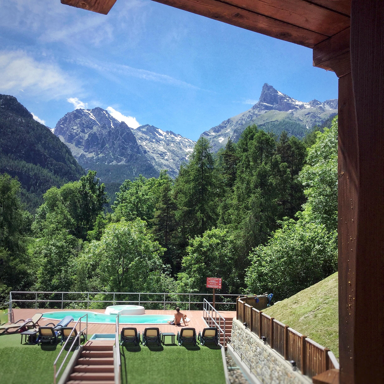 Valle d'Aosta Ristorante Le 3 Fiette Monte Avic fuga in Paradiso
