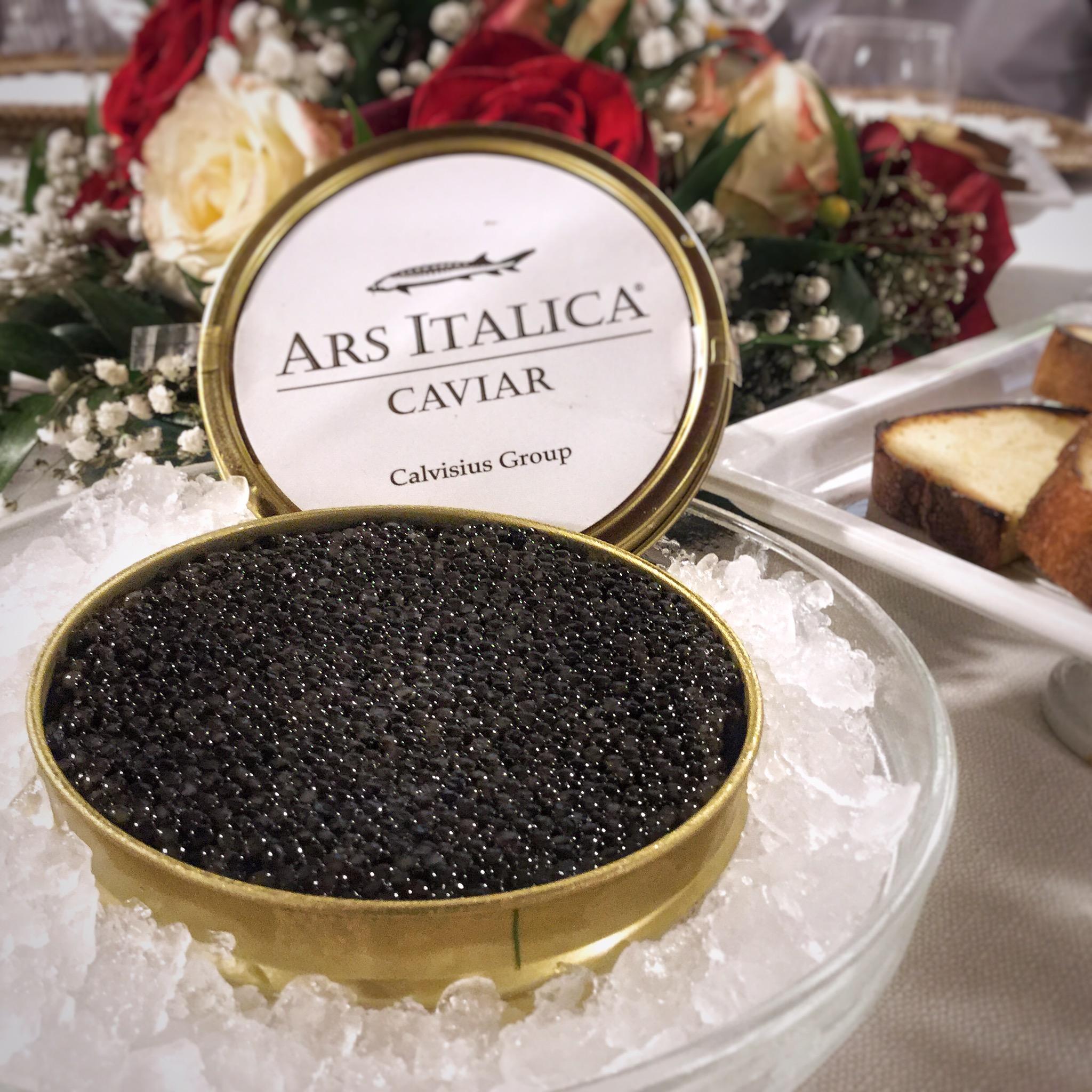 Caviale e Storione nel Parco del Ticino con Ars Italica Caviar