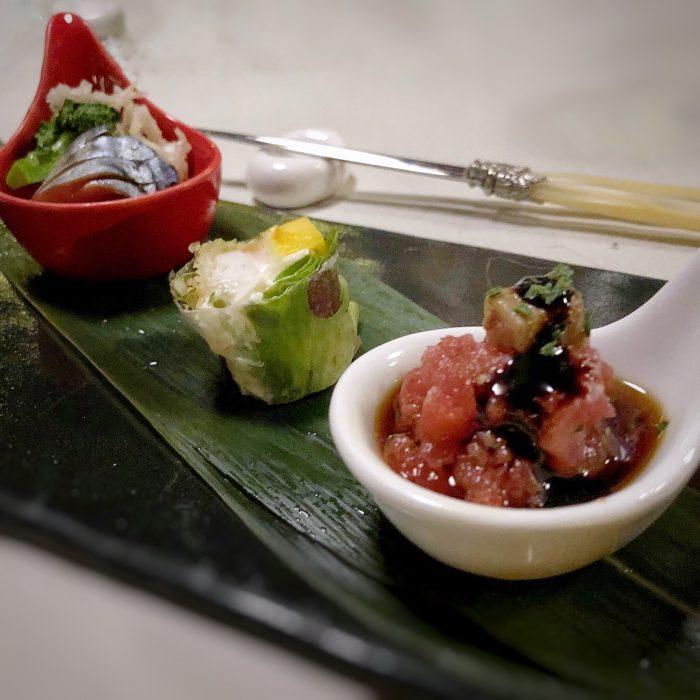 Cubi di salmone al bergamotto | La luna sul cucchiaio