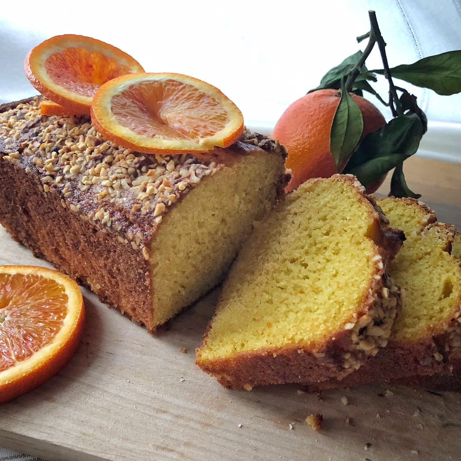 Plum-cake all'arancia