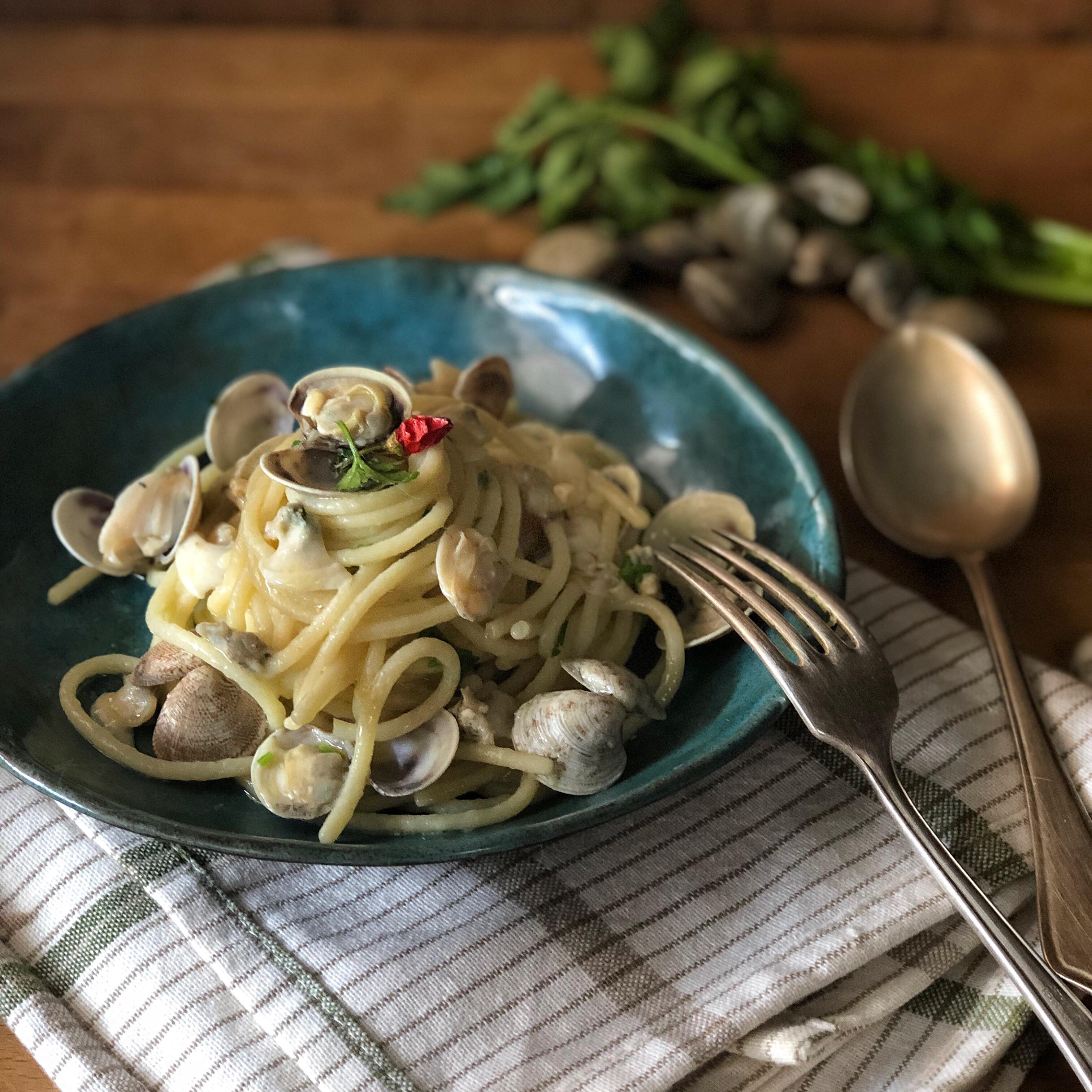 Spaghetti alle vongole speciali
