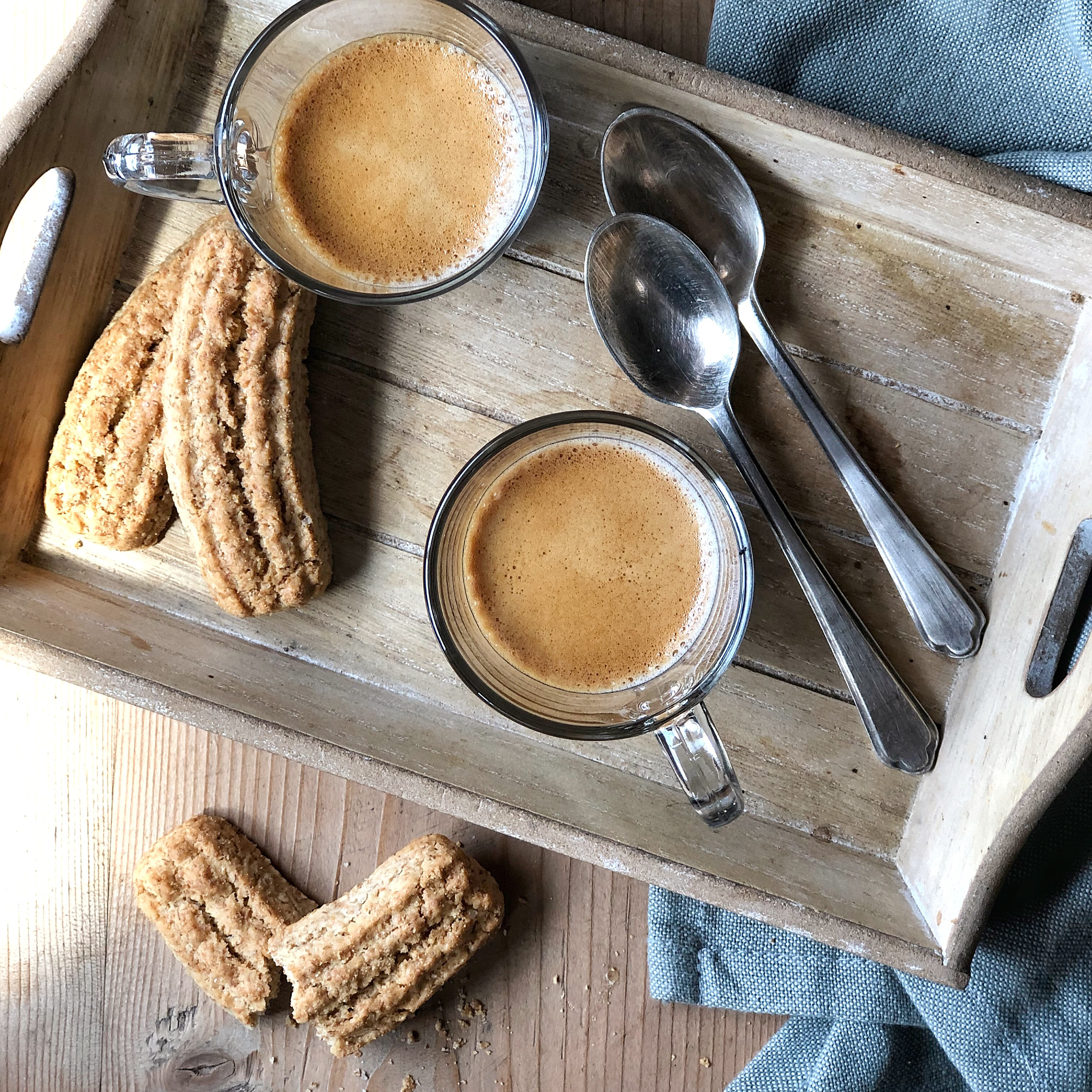 Biscotti krumiri: la mia ricetta al caffè