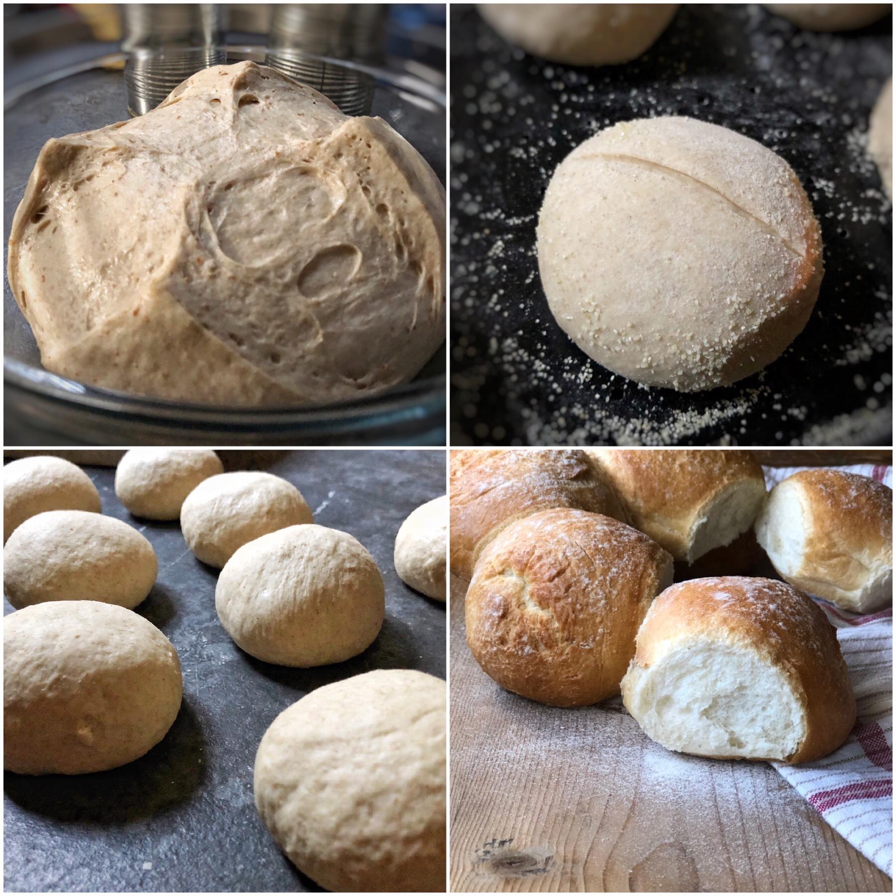 Corona di pane rustico