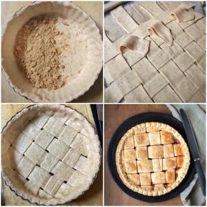 Crostata integrale alla marmellata