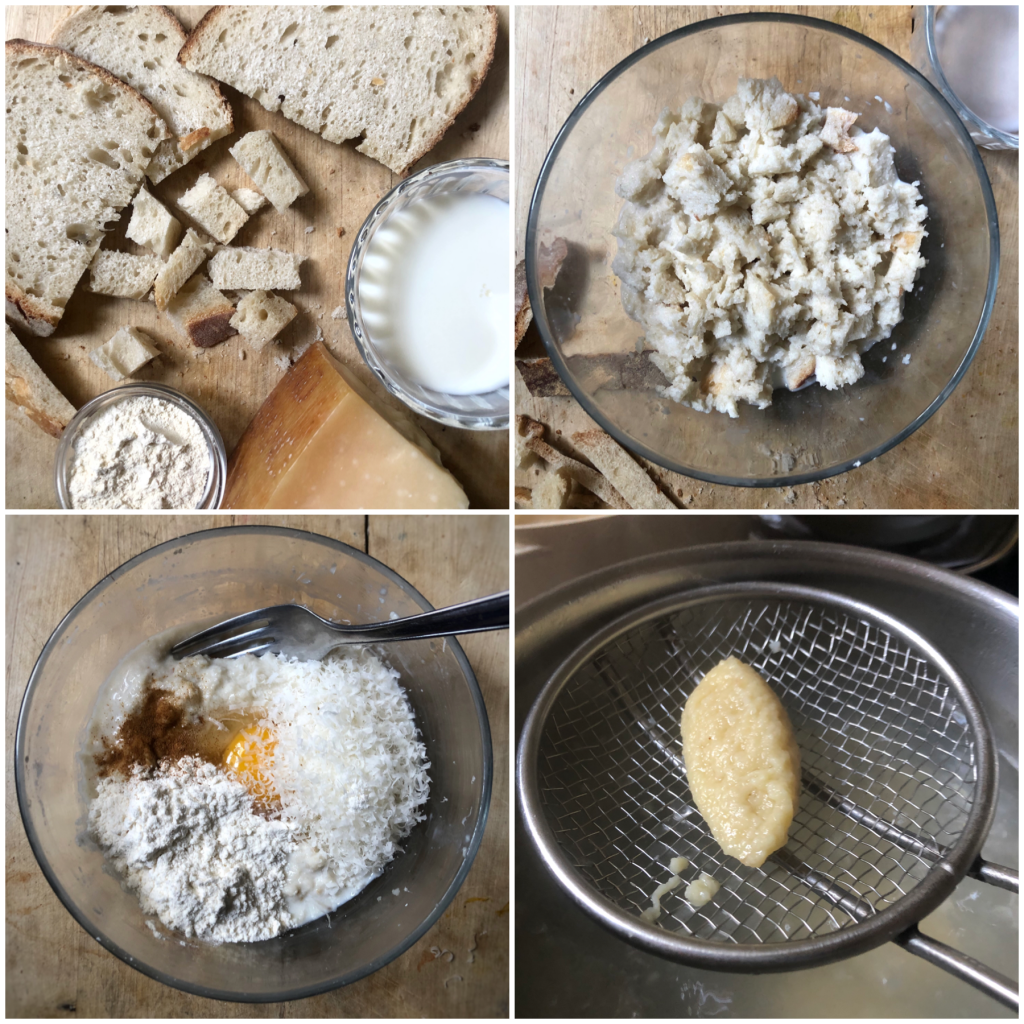 Gnocchi di pane raffermo al ragù finto