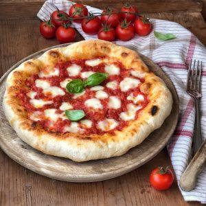 PIZZA TONDA (nel fornetto con pietra refrattaria)
