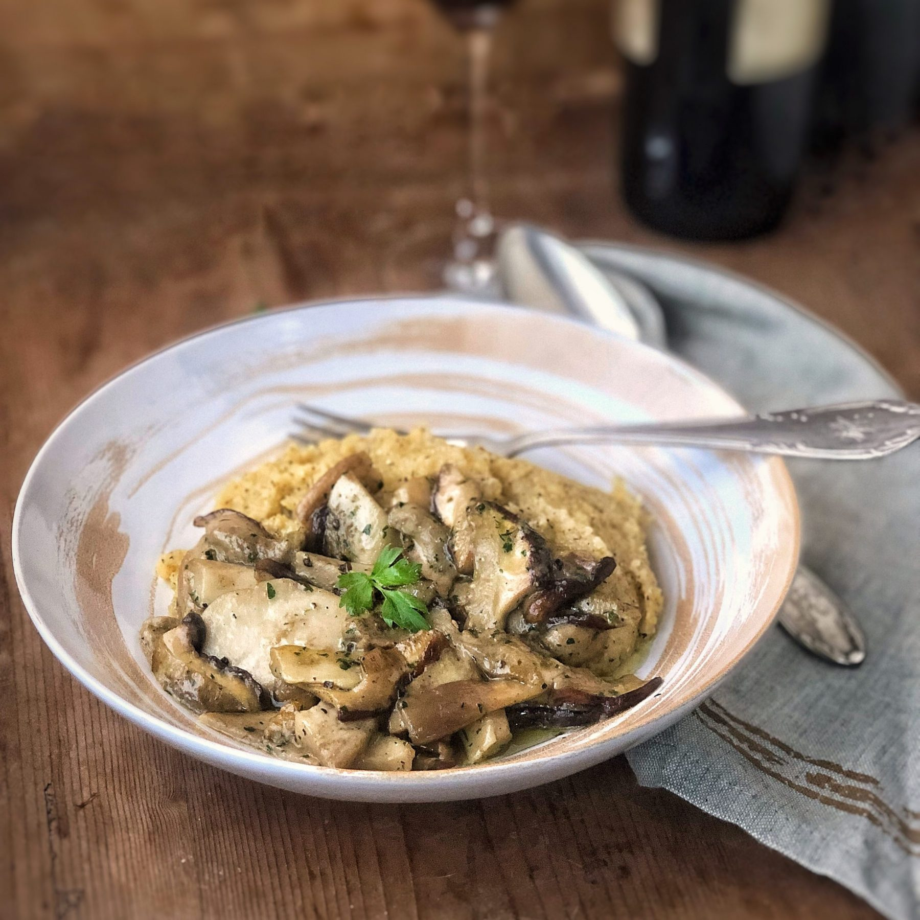 Polenta e funghi la mia ricetta irresistibile