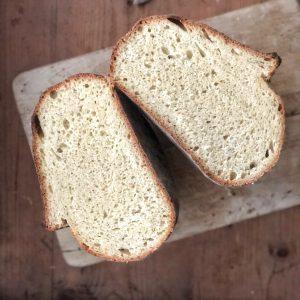 Il pane di semola di grano duro con autolisi