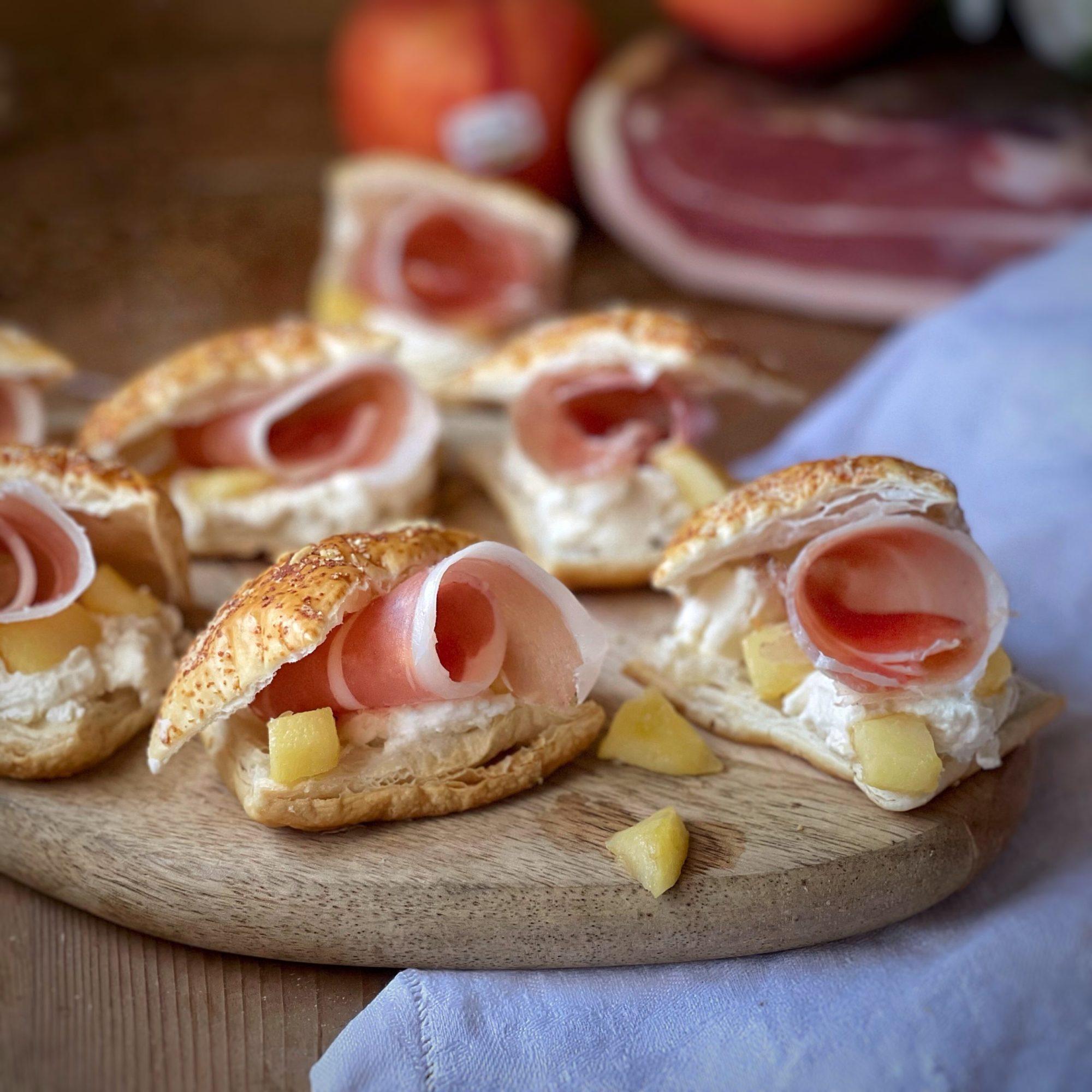 Millefoglie allo speck Alto Adige IGP e mele