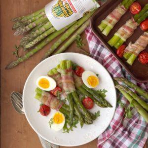Involtini di asparagi e pancetta