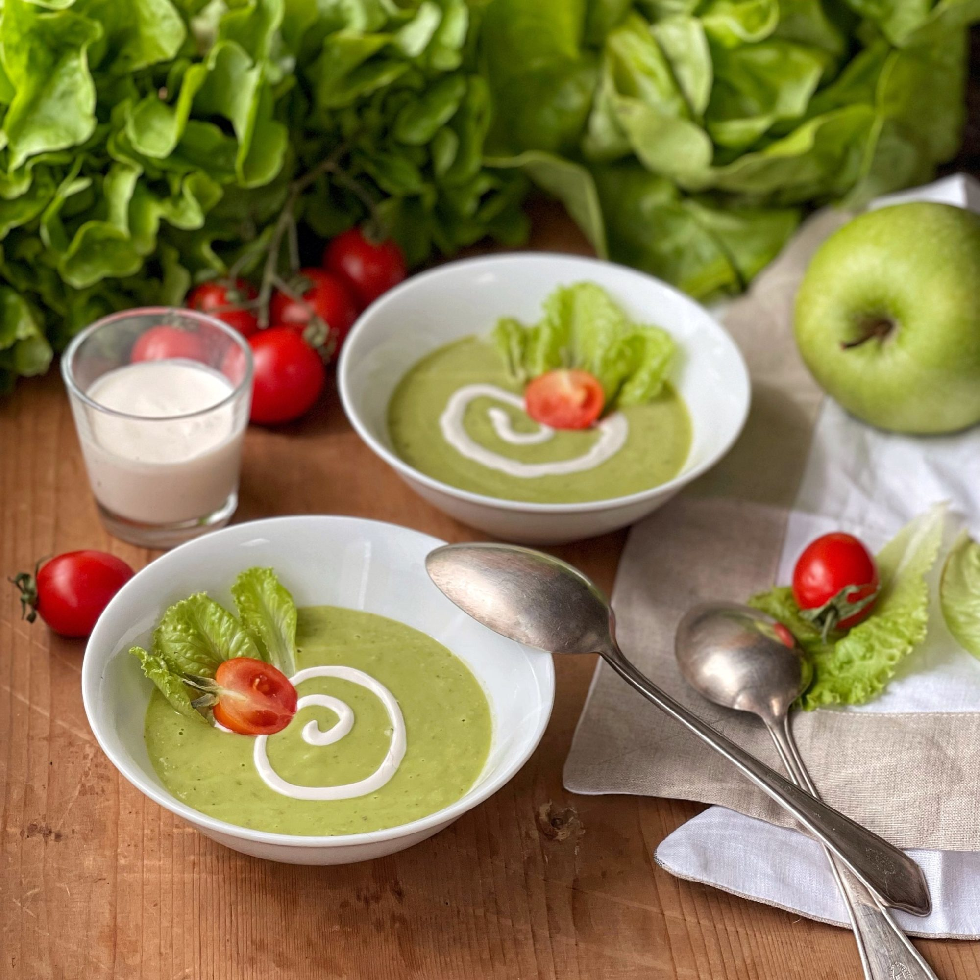 Gazpacho verde: la mia variante della ricetta classica