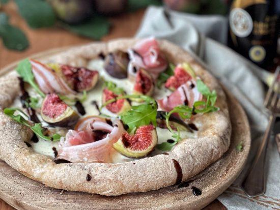 Pizza ai fichi con Aceto Balsamico