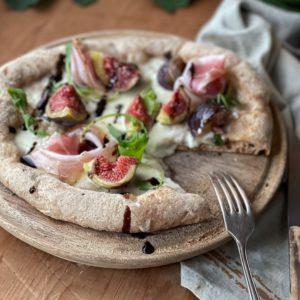 Pizza ai fichi con Aceto Balsamico di Modena IGP